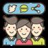 Social Media Share App 100px-min