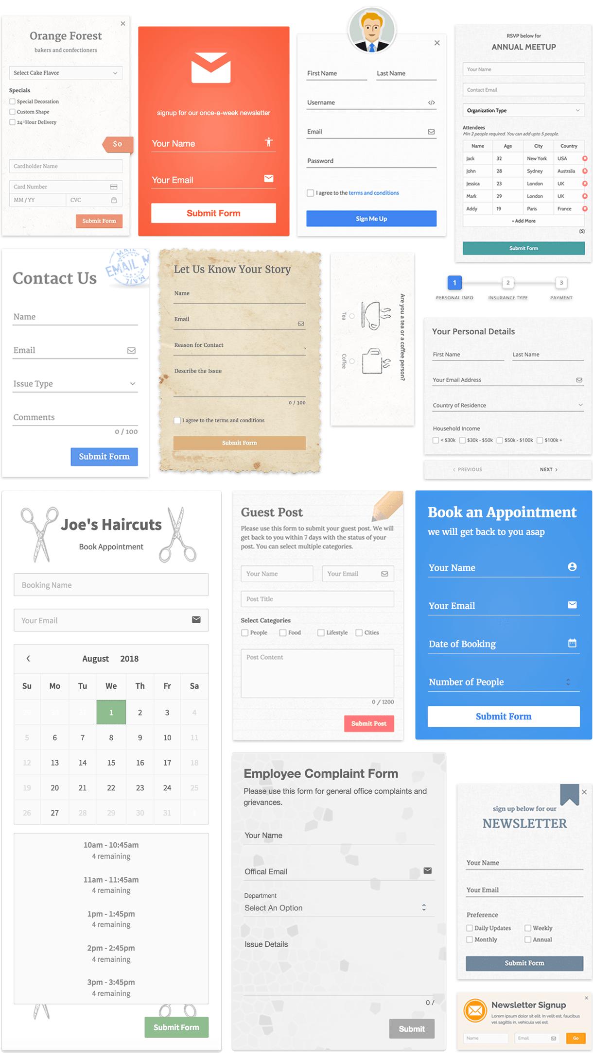 Custom Form Builder App | Website Design Agency