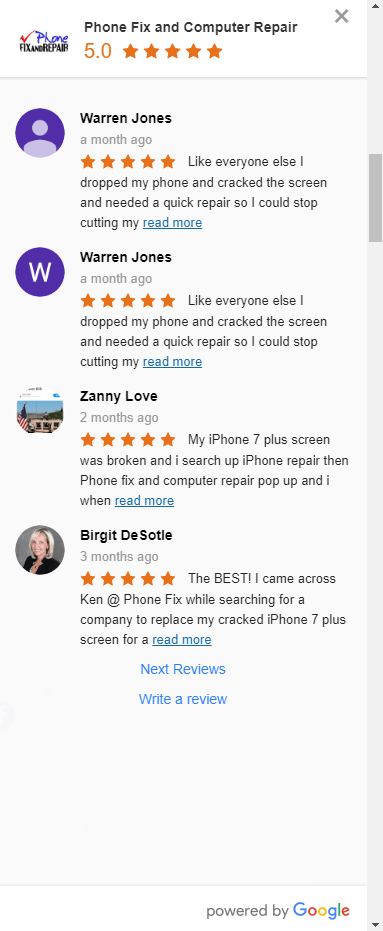 Google Reviews App | Website Design Agency