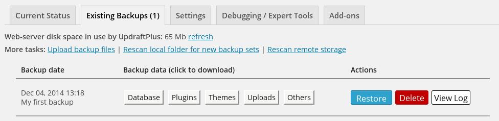 Private Cloud Backup & Restore App | Website Design Agency
