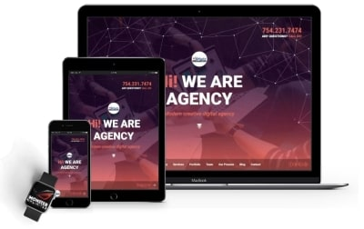 Home Page Mobile | Website Design Agency