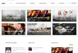 Blog And News Website Template