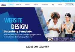 Business Gutenberg Website Template