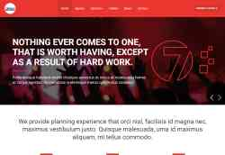 Event Agency Website Template